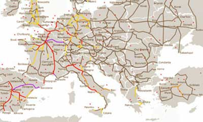 La rete TAV Europea