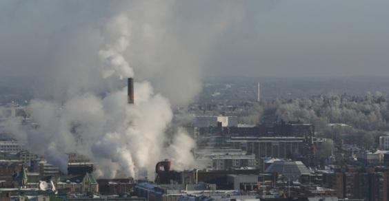 Inquinamento nelle città